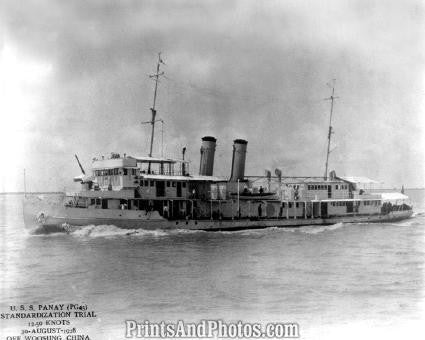 NAVY SHIP USS Palos River Gunboat  2893