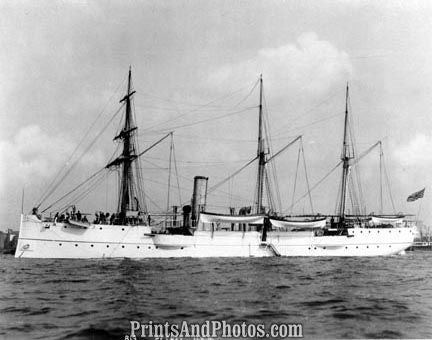NAVY SHIP USS Petrel Gunboat  2894