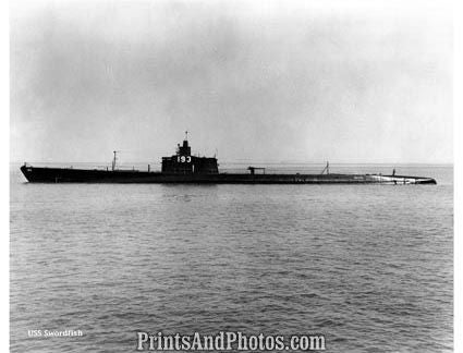 NAVY Submarine  USS Swordfish  2906