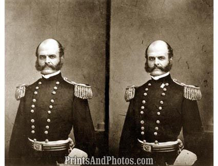 CIVIL WAR  Major Gen BURNSIDE 2942