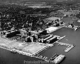 NAVAL ACADEMY  Aerial  1942 3035