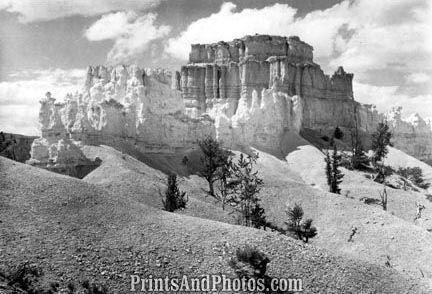 BRYCE CANYON Natl Park Temple 1950  3046