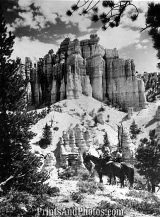 BRYCE CANYON Natl Park on Horseback  3048