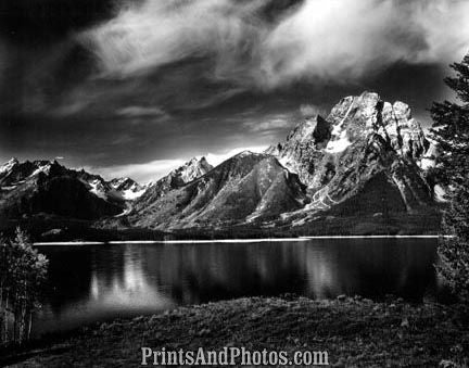 GRAND TETONS Natl Park Jackson Lake  3067