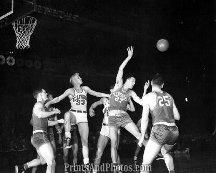 Basketball Kentucky Illinois 1949  3121