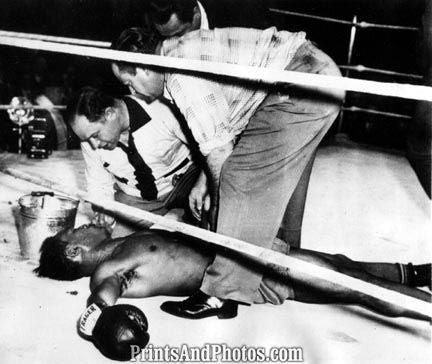 Boxing JOE LOUIS vs. Mintz 3135