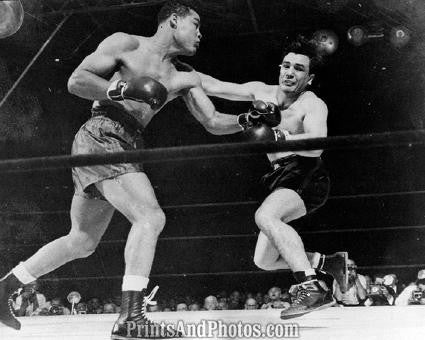 Boxing LOUIS vs Mauriello