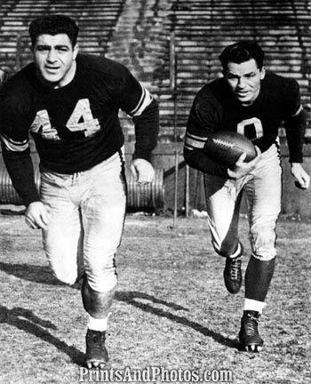 40s STEELERS Campagno and Clement 3161