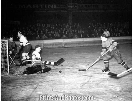 Detroit Montreal 1938 NHL   3179