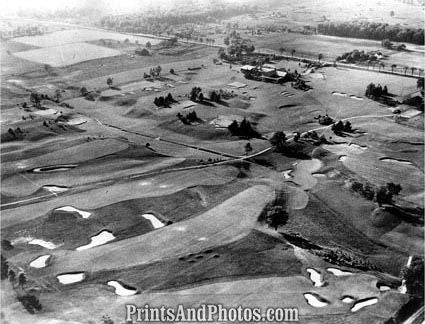 Aerial  Inverness Golf Course 3184