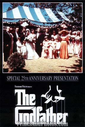 THE GODFATHER 25th Ann. Movie  3210