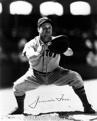 JIMMIE FOXX Red Sox Signature Print 3212