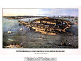 CIVIL WAR Fortress Monroe  3236