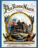 CIVIL WAR  Pea Ridge March  3238