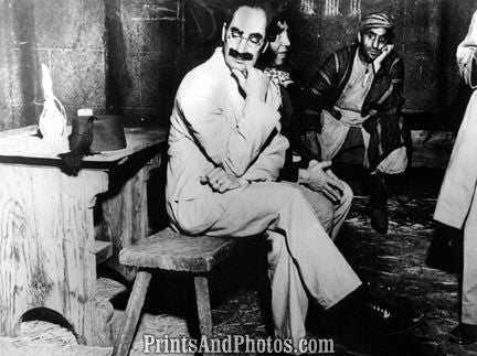 Actor Comedian Groucho Marx  3271