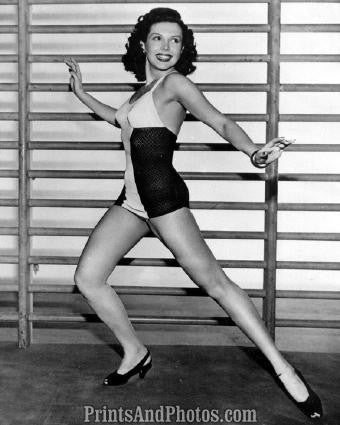 Actress Ann Miller In Bathing Suit  3275