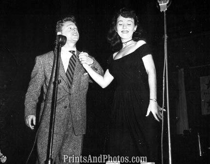 Mickey Rooney & Connie Haynes  3375