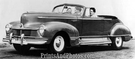 1946 Hudson Two Door Convertible  3443 - Prints and Photos
