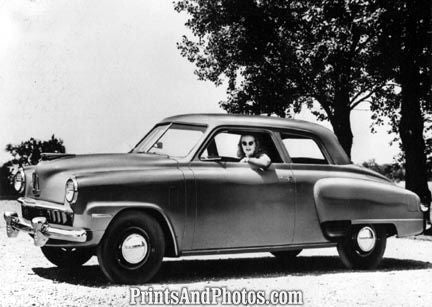 1947 Studebaker 1st Postwar Car  3452 - Prints and Photos