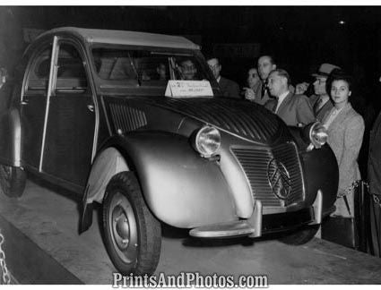 1948 Citroen  3454 - Prints and Photos