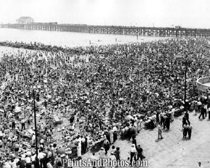 Coney Island Standing Room Only  3482