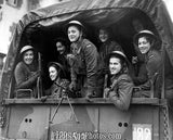 Polish Women Guerillas In Truck  3515