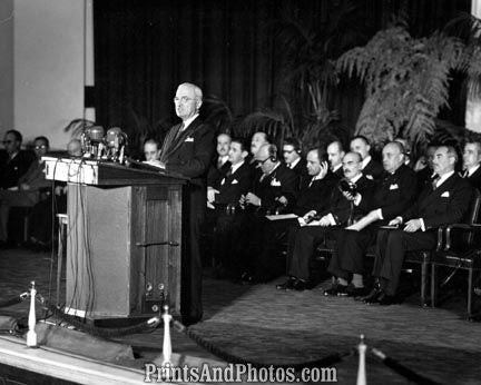 President Truman Foreign Meeting  3526