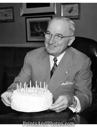 President Truman 67th Birthday  3543