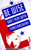 Don't Play w/ Firecrackers Ad 3579
