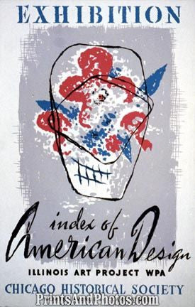 Exhibition American Design Ad 3593