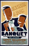 Father & Son Banquet Ad 3595