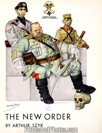 New Order WWII NAZI AD  3645