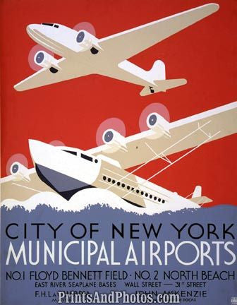 NYC Municipal Airports Planes  3661