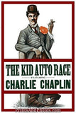 CHARLIE CHAPLIN The Kid Auto Race  3672