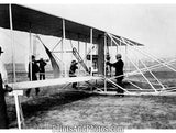 Orville Wright in Germany Plane  3676