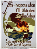 Make New Orleans Safe Port WAR Ad  3744