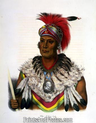 Native Indian Wa-Pel-La Chief  3749