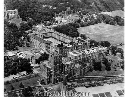 WEST POINT Academy 50s Aerial 3786