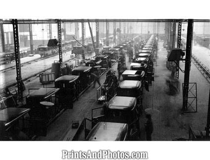 1928 Citroen Plant France  3792 - Prints and Photos
