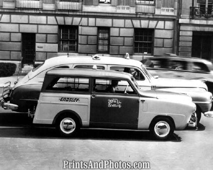 1949 Crosley Taxi Cab  3812 - Prints and Photos
