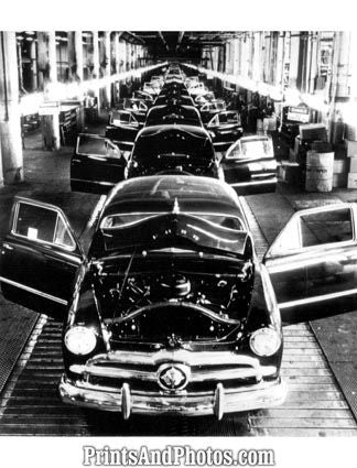 1949 FORD Assembly Line - Prints and Photos