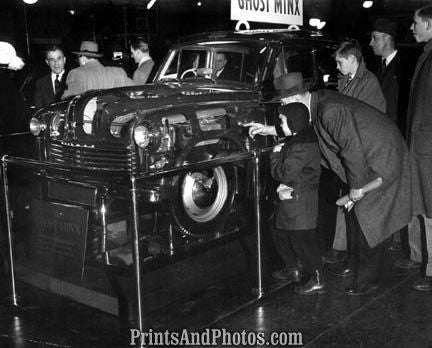 1949 GHOST MINX 1st Intl Auto Show  3819 - Prints and Photos