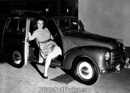 1950 Fiat Station Wagon  3833 - Prints and Photos