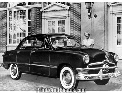 1950 Ford Custom Deluxe  3834 - Prints and Photos