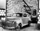 1947 Ford Sedan w/ Tank  3835 - Prints and Photos