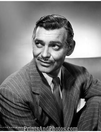 Actor CLARK GABLE Studio  3886
