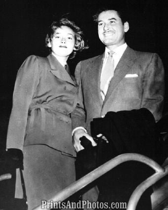 Actor Erroll Flynn & Wife Nora  3887