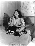 Actress AVA GARDNER on Phone  3895