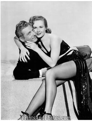 Danny Kaye & Virginia Mayo  3913