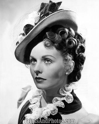 Hollywood 's JEANNE CRAIN  3918